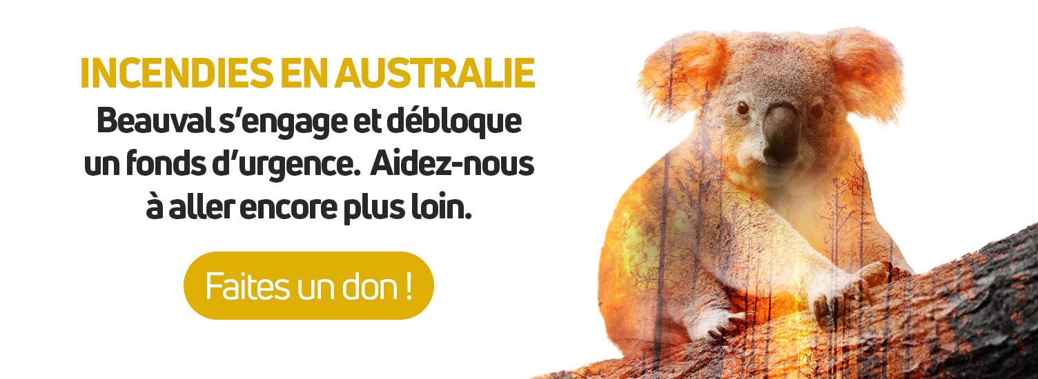 Incendies en Australie : Beauval Nature appelle aux dons