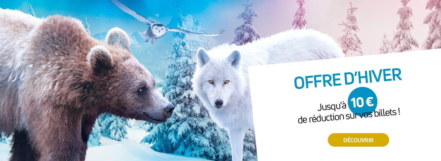 Billetterie - Offre d'hiver - ZooParc de Beauval