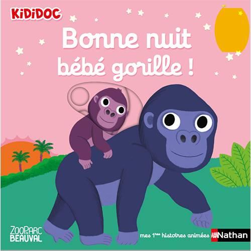 Livre - Bonne nuit bébé gorille - ZooParc de Beauval